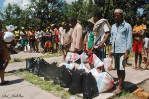 Centre ValBio donates food to local community