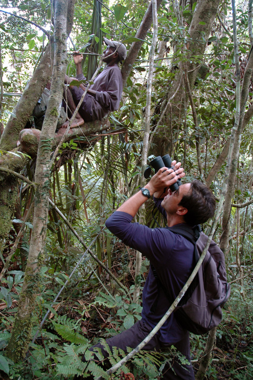 Erik Patel undertaking field research in Madagascar with SAVA Conservation.