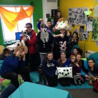 Teacher Robin Lee's class is spending the whole school year using a lemur-based curriculum.
