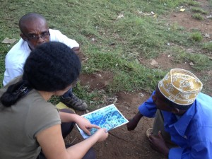 Participatory conservation: getting feedback from local communities.