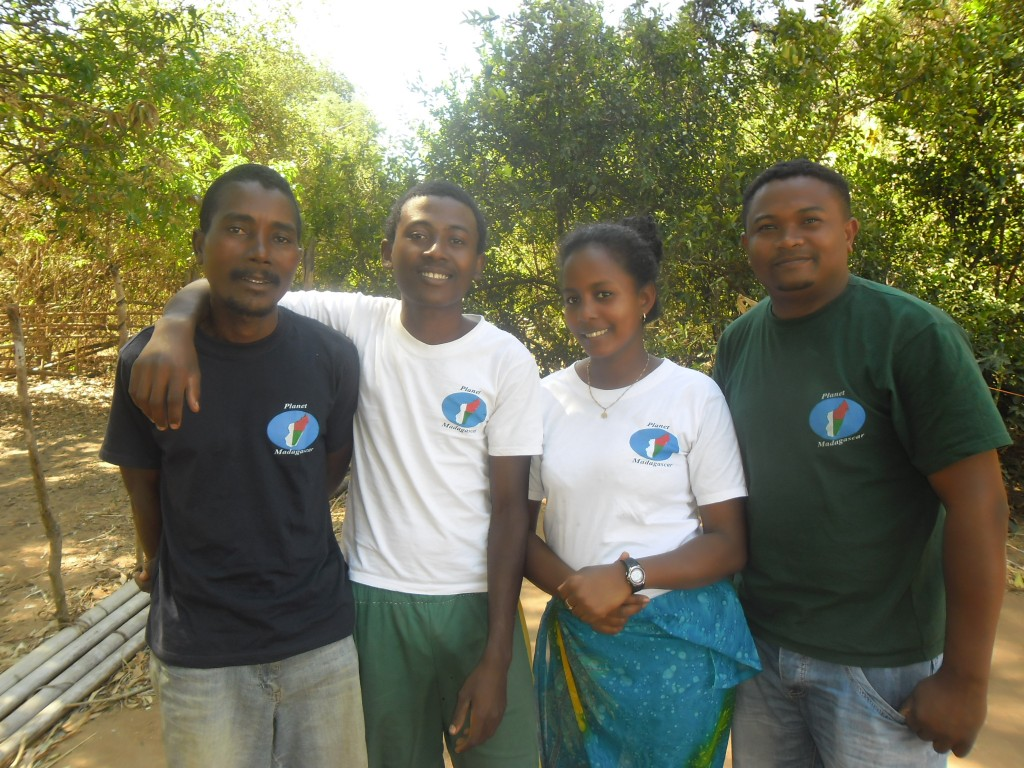 Livelihoods survey team