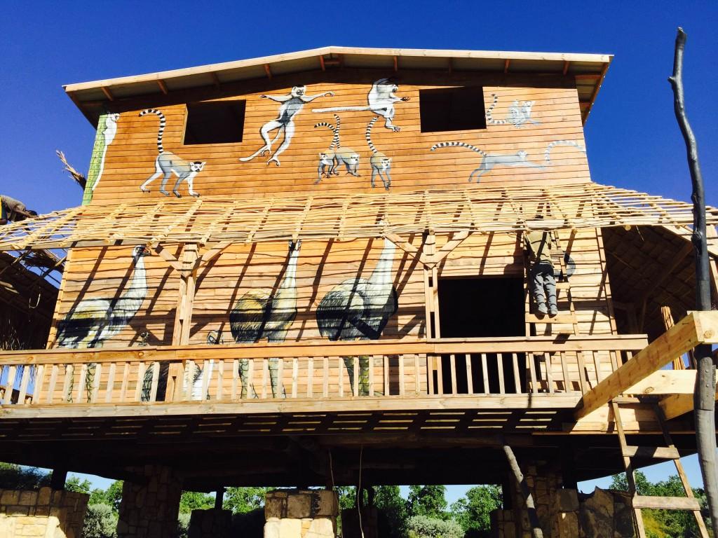 Ho Avy's soon to be opened Lemur Freedom Center