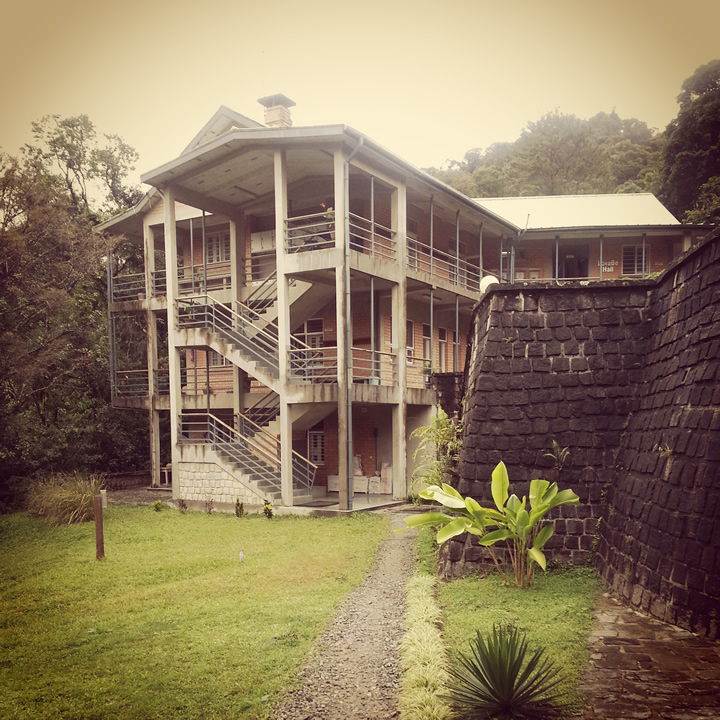 Centre ValBio, a state-of-the-art research station at the edge of the rainforest in Ranomafana. Photo by Sabrina Szeto.