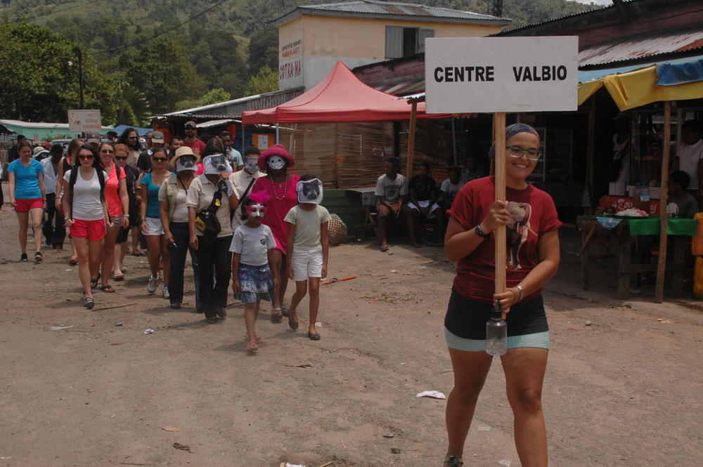 World Lemur Festival celebration at Centre ValBio. Photo courtesy of Centre ValBio.