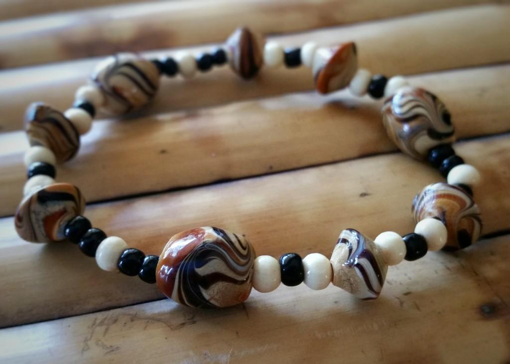The first bracelet: the Sumatran Tigress. Photo courtesy of Creations 4 Wildlife.