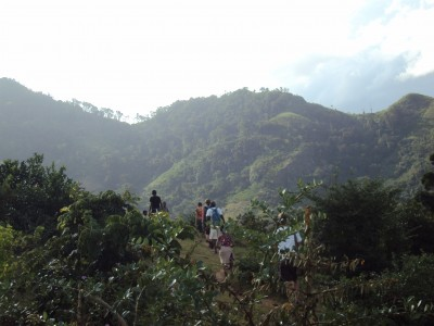 Near Azafady's field site in Madagascar. Photo by Mal Mitchell.