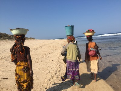 Photo of local community in southern Madagascar. Photo by Ash Dykes.