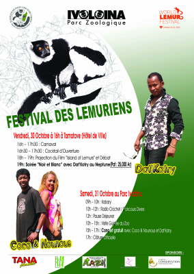 Click to download the full schedule of events in Tamatave and at Parc Ivoloina!