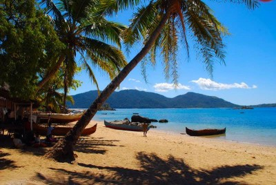 Nosy Komba, one of the many beautiful beaches found along Madagascar's coast.