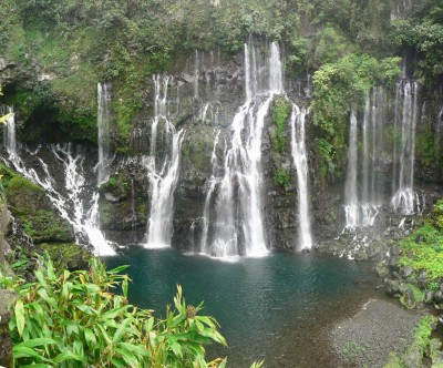 Beautiful waterfalls are another selling point to Madagascar as a premier tourist destination.