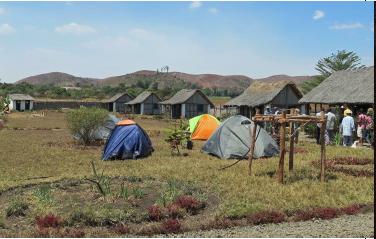 Camping in Camp Bando