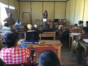 Presenting in Madagascar.