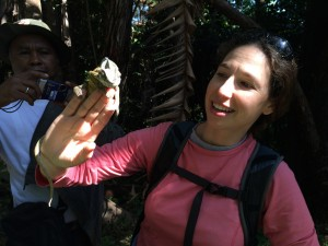 Meredith in Madagascar.