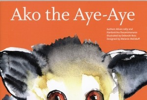 The first book in the Ako Project series, Ako the Aye-Aye.