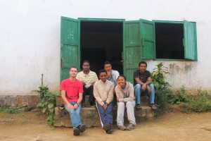 Mad Dog team members in Madagascar.