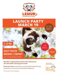 LemurConservationNetwork-LaunchParty-Invite
