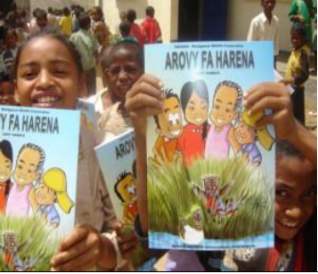 "Environmental education with the use of the comic book ""Harovy fa harena"""